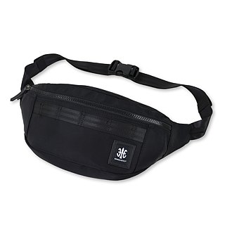 ROYAL ELASTICS - Knight Dark Knight Series Half Moon Waist. Chest Bag - Black