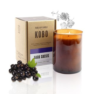 [KOBO] American Soy Essential Oil Candle - French Raspberry (435g/combustible 100hr)