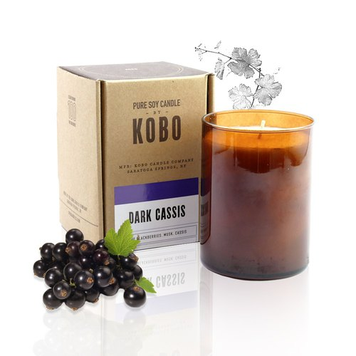 【KOBO】 US soybean oil candle - French berry Lai (435g / flammable 100hr)