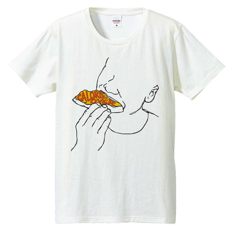 T-shirt / Calorie over 2 (pizza)