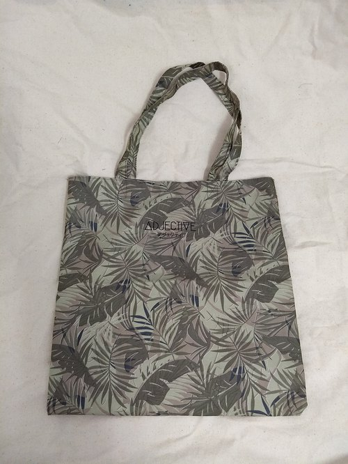 Green leaf Totebag