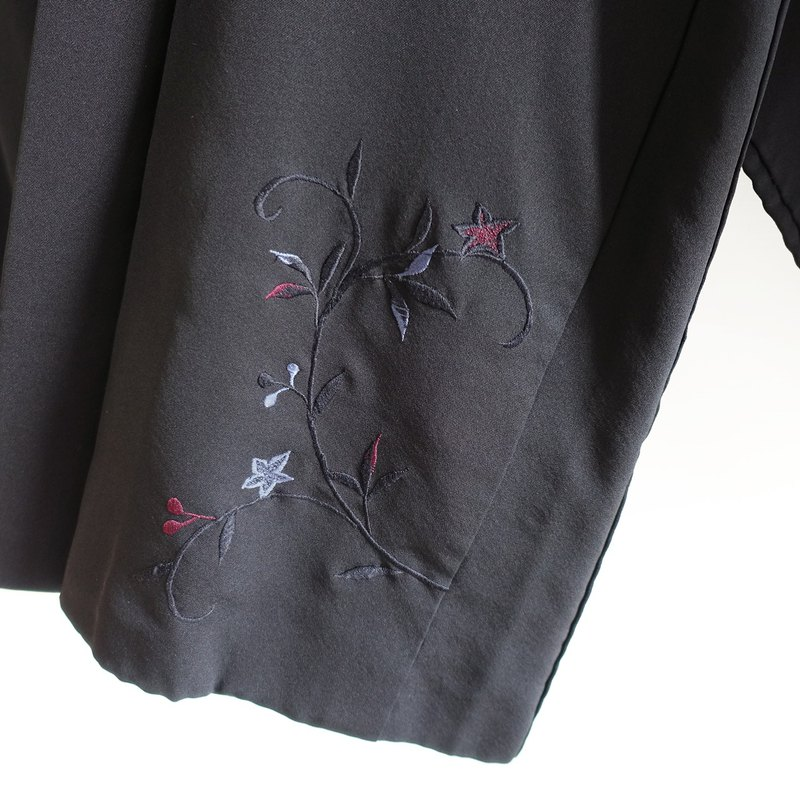 │Slowly│Japanese antique-light kimono very flat coat J10│ 古 着 .vintage.Made in Japan