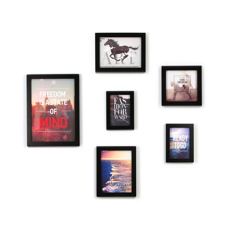 HomePlus Photoframe-Horse Blackframe/6PCS #Homedecor #Loft