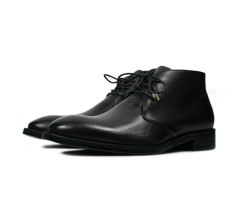 手染燻舊德比短靴-DD001-3