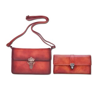 Goody Bag Leather Handmade Shoulder Bag / Wallets