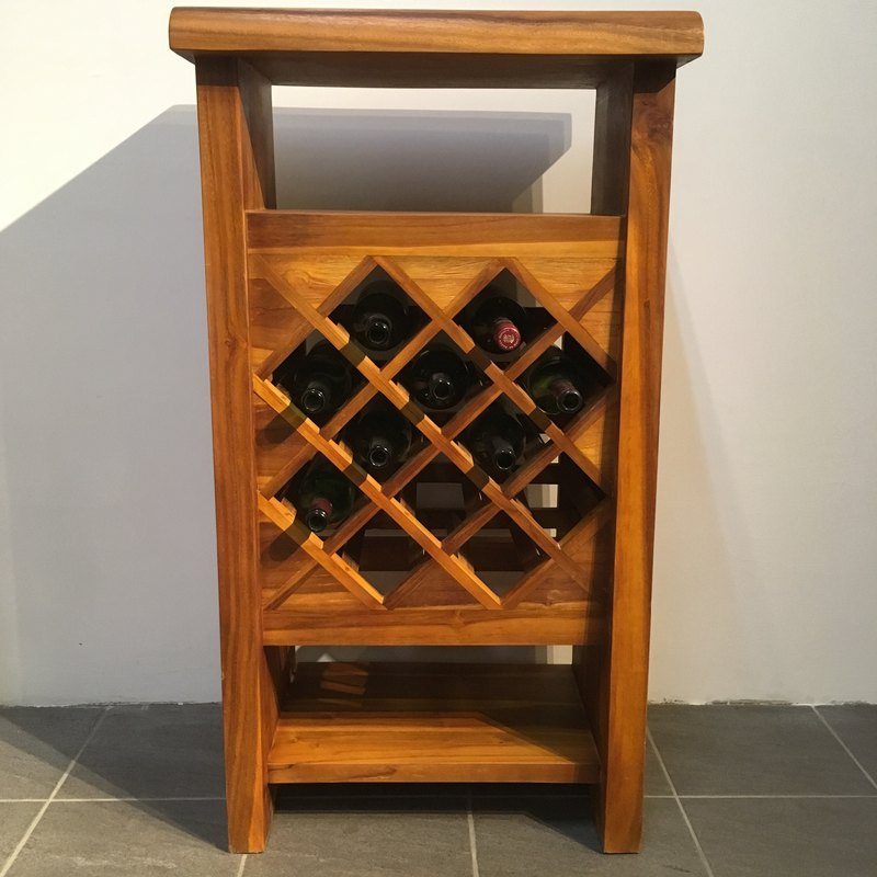 JidiLiving in Jidi | Log Wine Cabinet