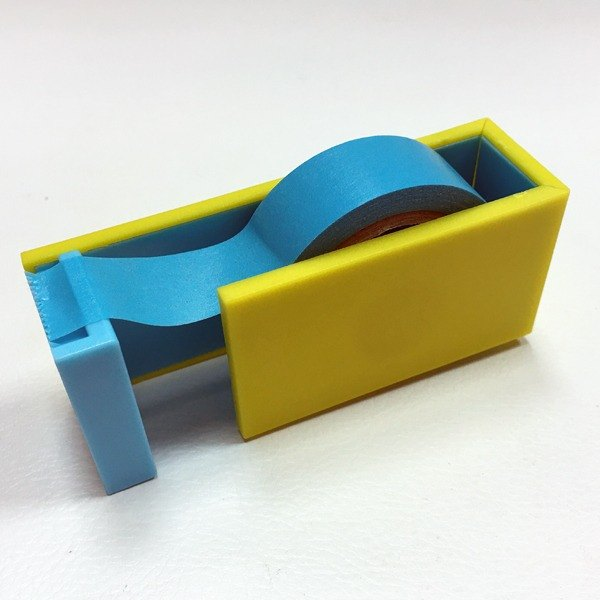 Mt Tape Cutter Contrast Tape Table [Yellow X Blue (MTTC0022)] 2016 Summer