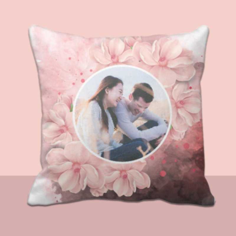 Customize Pilow-Rose valentine personalise cushion