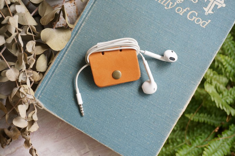 Yellow Brown  -Square Style Collector for Earphone