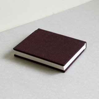 Small Size Sewn Board Bound Notebook – Dark Purple
