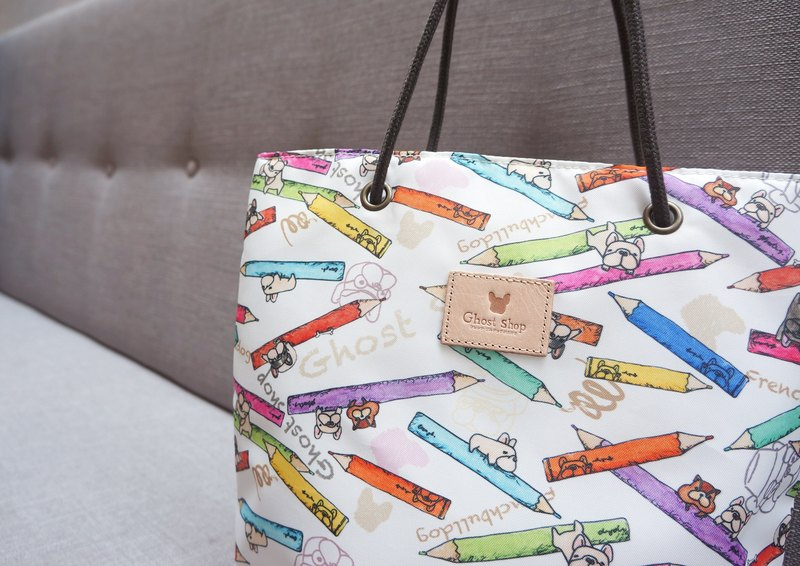 Law color pencil - afternoon tote bag
