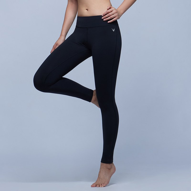 [MACACA] Good Day Physio Yoga Pants - ARE7941 Black