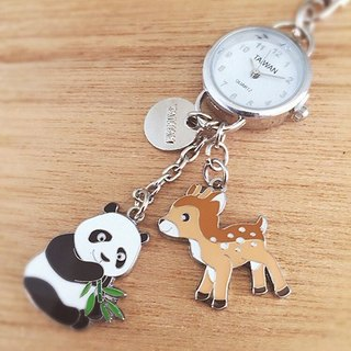 Small watch strap / key ring - Cute Animals