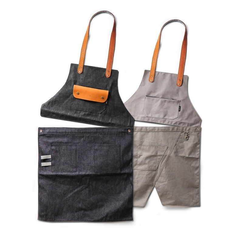 The second generation of deformation dual-use wear work apron good friend 2 pieces buy combination store security