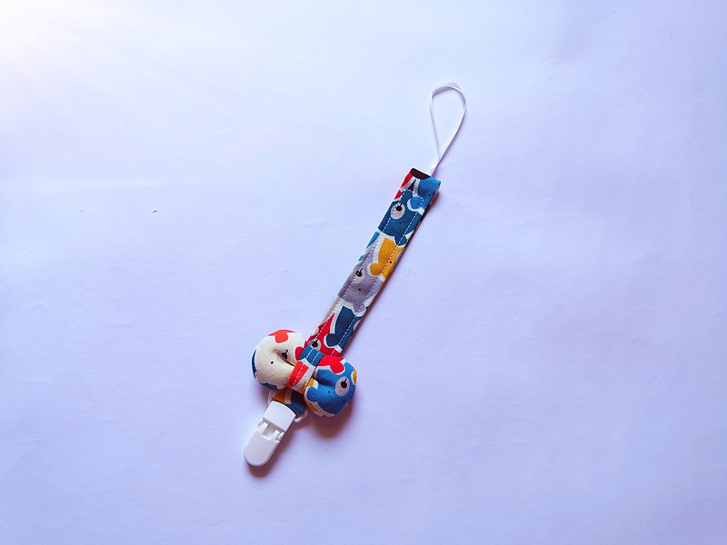 Pacifier clip Color bear