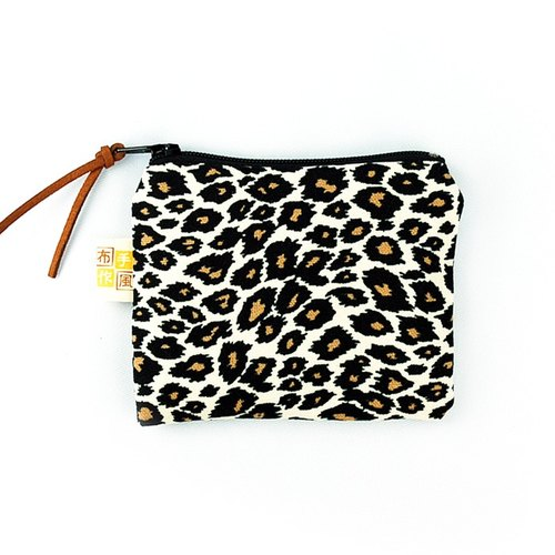 Classic Leopard coin pocket