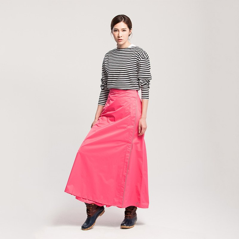 [] MORR Rainsk rain or shine dual-use a skirt [coral]