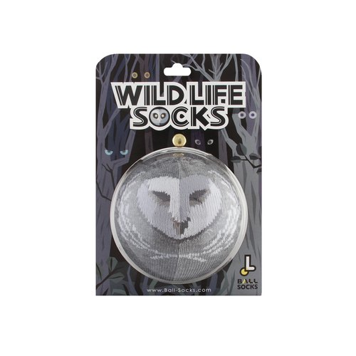 Wildlife socks _ Cang owl owl