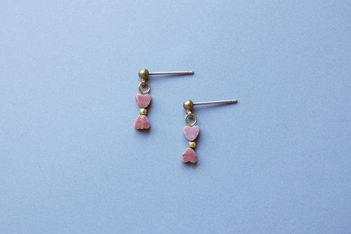 │ Heart light │ Earrings - Rose