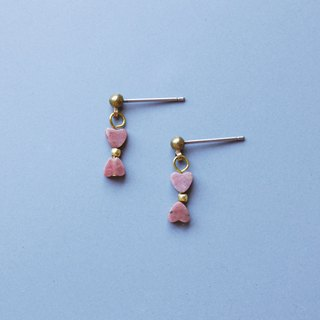 Heart light - earring  clip-on earring