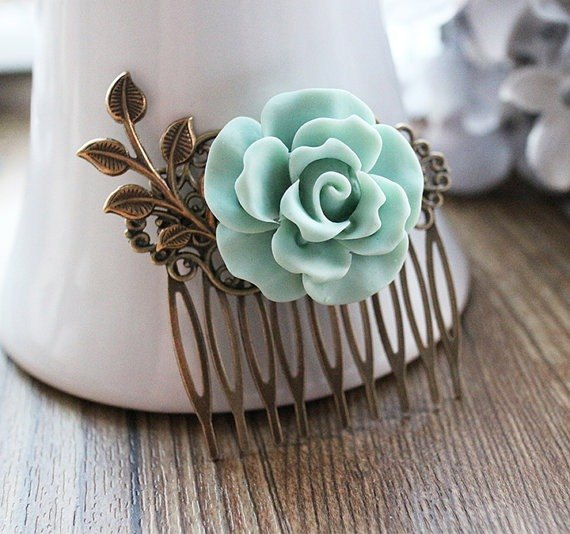 Camellia Retro comb hair accessories