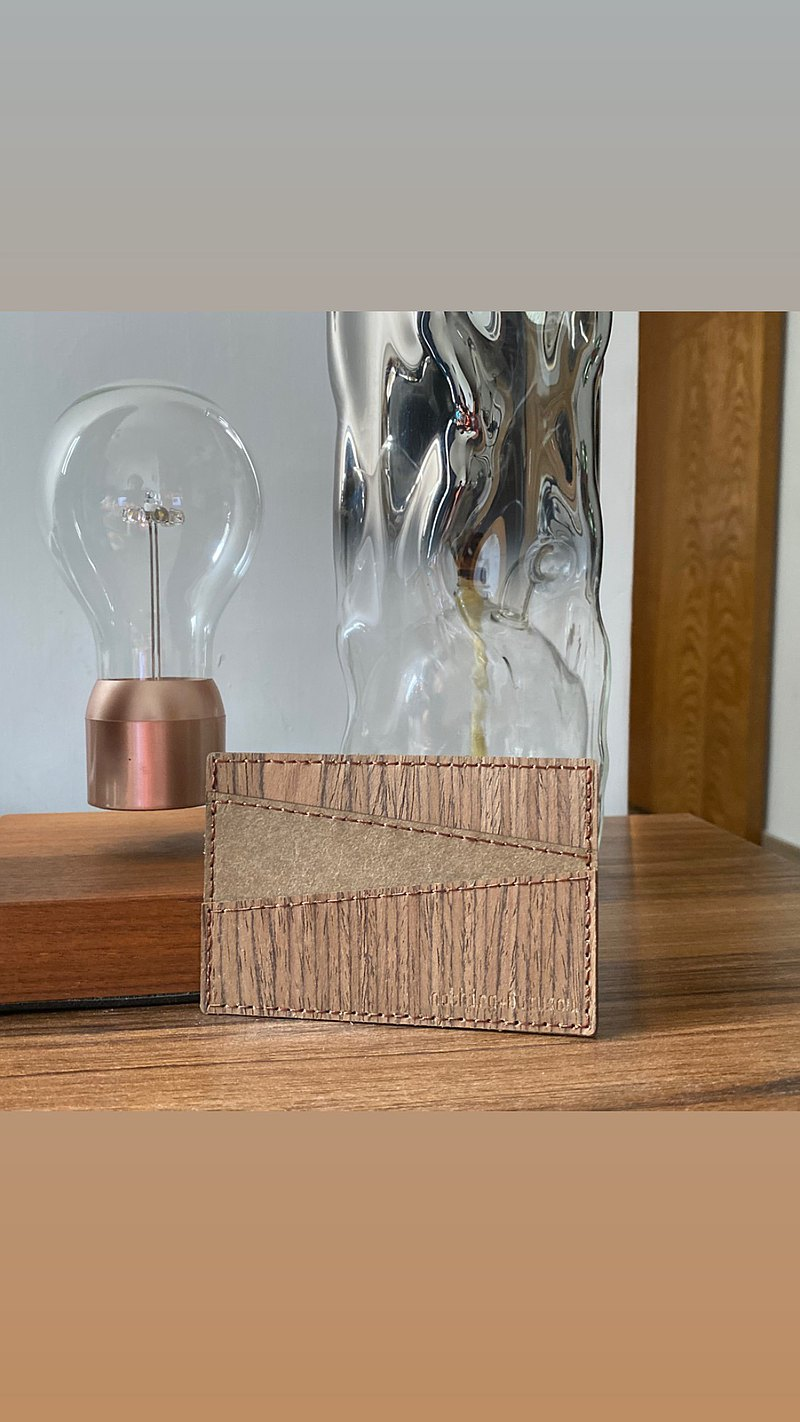 All wood with washed kraft paper five card sets