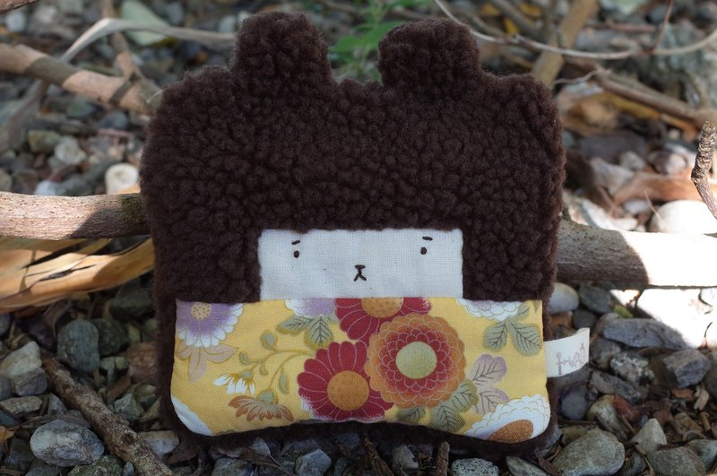 Duo Er rabbit coin purse - cocoa hair -103 and the wind flower