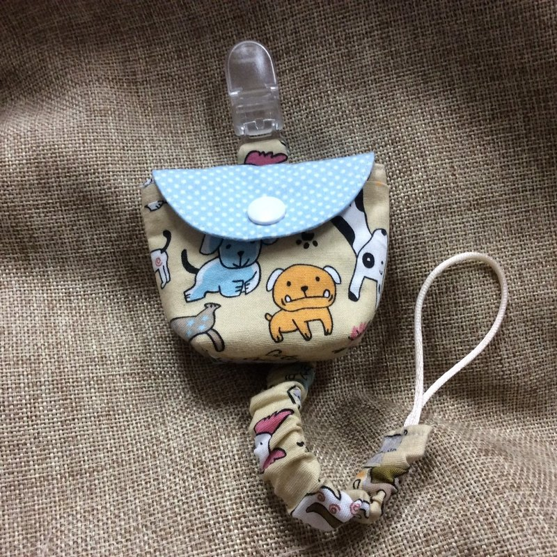 Multi-function three-in-one peace symbol bag, pacifier bag, pacifier belt, puppy