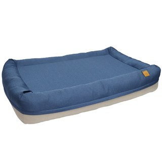 Lifeapp Air Fort Air Bed / Midnight Blue / M Full set of removable and washable