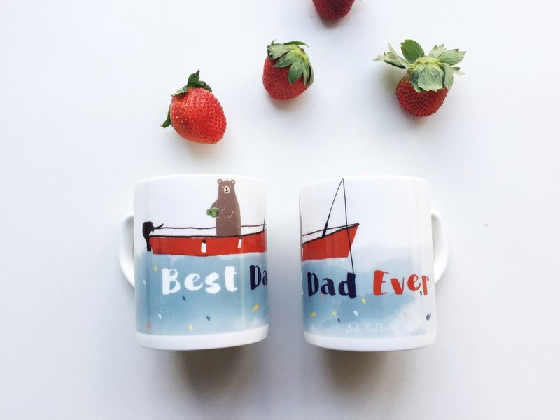 Mug - Father's Day Daddy Bear