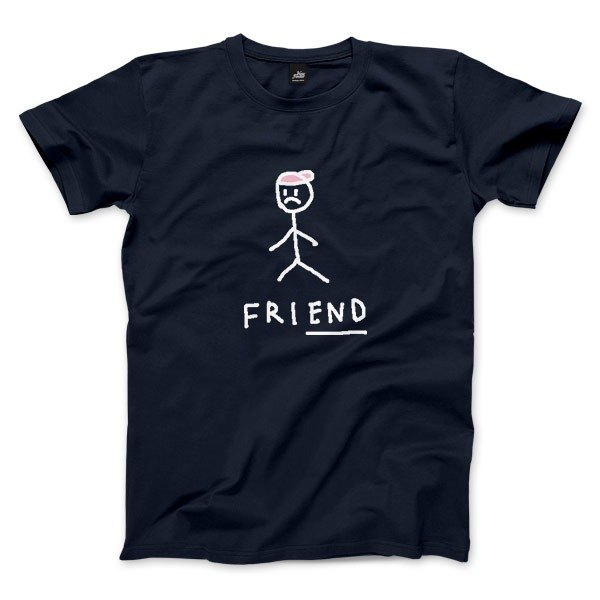 friEND - dark blue - neutral T-Shirt