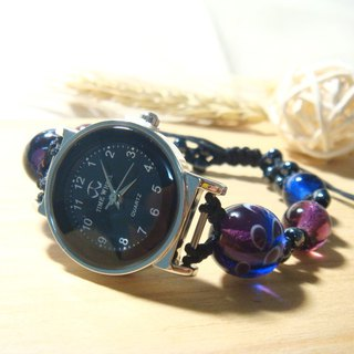 Grapefruit Lin handmade glass - watch - design section - Futaba