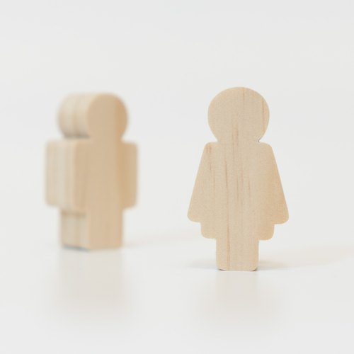 Thick Shaped Building Blocks Graphic Series - Couples