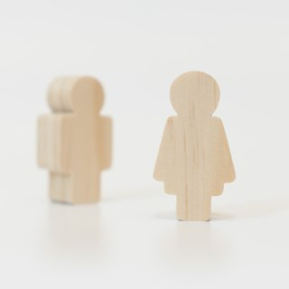 wagaZOO thick cut modeling blocks graphic series - couple