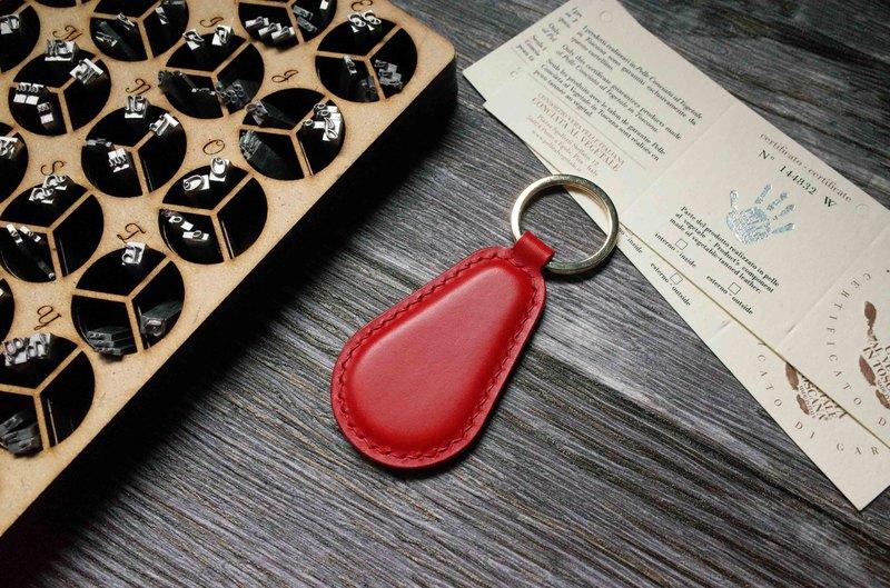 Buttero 悠遊卡晶片吊飾-鑰匙圈B款-紅色