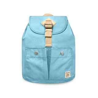 Doughnut Waterproof Soda Cracker Mini Backpack - Marine Blue Citrus