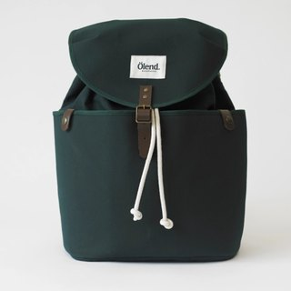 |Spanish handmade | Ölend Ringo canvas back pack (Dark Green dark green)