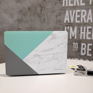 Pattern Lab | Hardshell Case for MacBook Pro w/ USB-C-Tiffany Blue