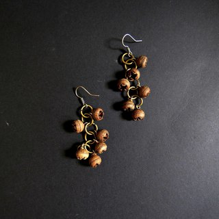 No.2 Eucalyptus Forest Small Wild Fruit Handmade Earrings