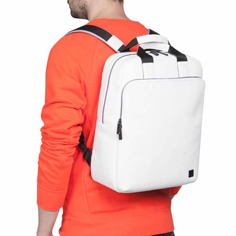 "[End of Year Surprise] Dale 15 ""Leather Backpack (White)"