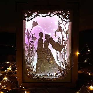 Exclusive Order - | Light and Shadow Story | Paper Carved Night Light | Special Order | Forest Roaming |
