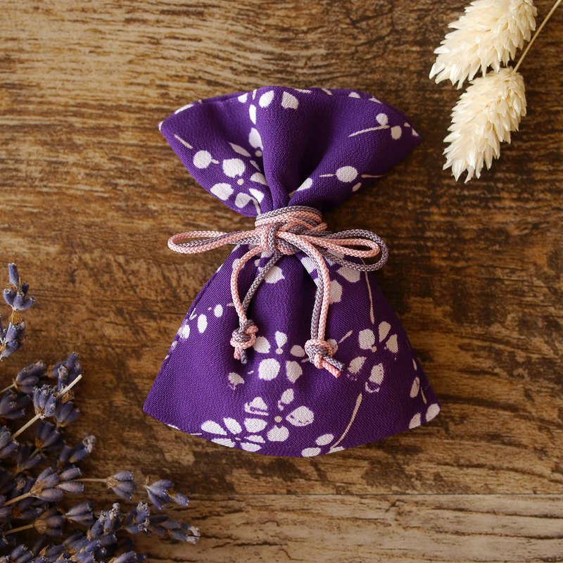 Kimono Odor Bag Small Accessories Calling Happiness Flower Pattern