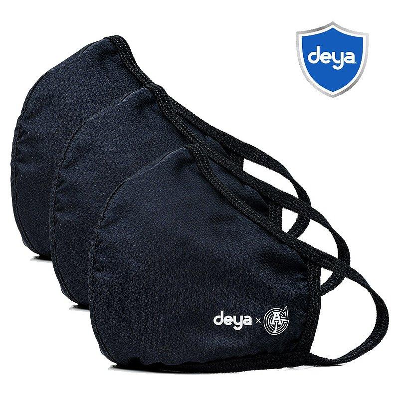 deya 3D立體涼感抗菌布口罩 - 兩色可選(三入)
