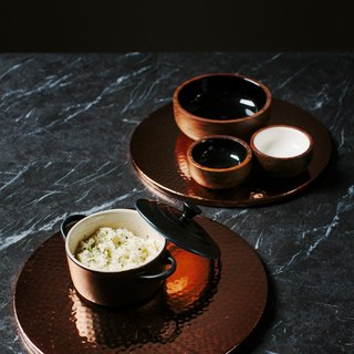 【NEW】●2 Copper Trivets/Place Mats● UK - The Just Slate Company