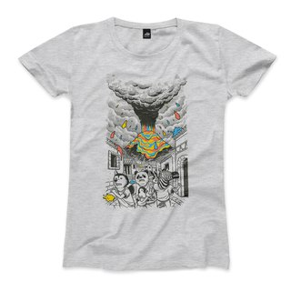 Escape color storm - deep gray - female T-shirt