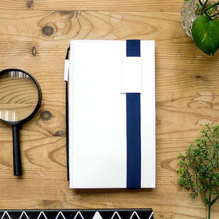 Ultra Slim Refillable Notebook – White Cover