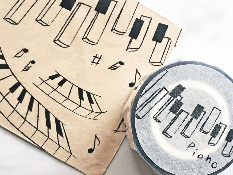 Piano piano paper tape PET transparent tape by Bomo