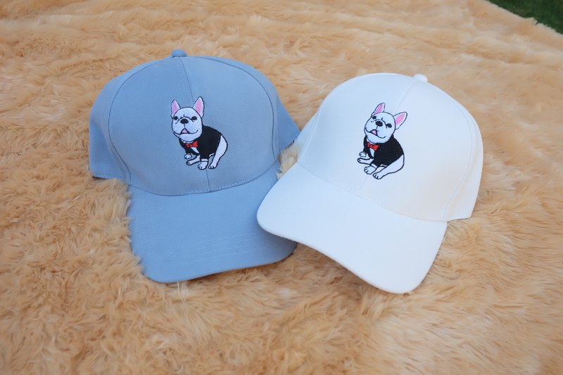 Embroidery hat, French Bulldog
