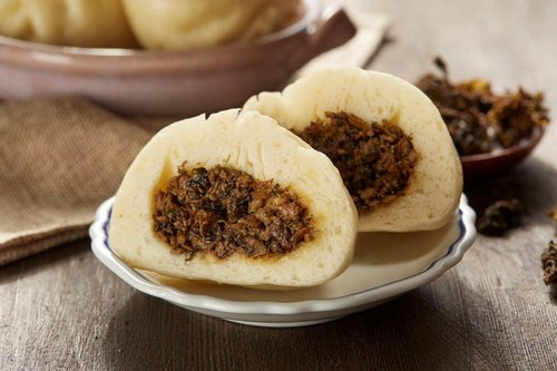 【Manchu fragrant】 dried meat bun package into the -4