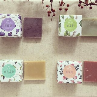 Natural fragrance soap used to see the combination of soap type fragrance optional